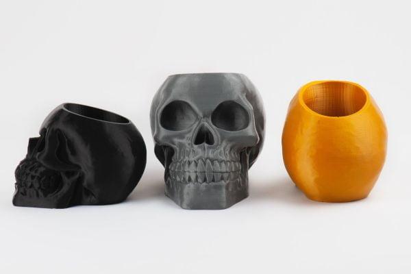 Skull Planter Toothbrush Holder